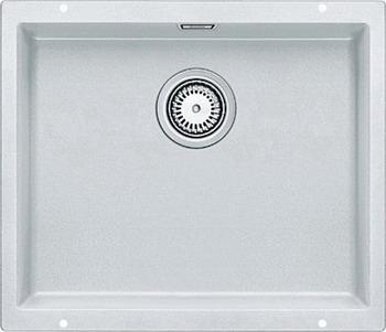Кухонная мойка BLANCO SUBLINE 500-U SILGRANIT белый  цена и фото