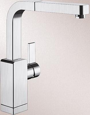 Кухонный смеситель BLANCO LEVOS-S нерж. сталь зеркальная полировка ручка управления levos chrome 221901 blanco