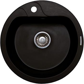 Кухонная мойка LAVA R.3 (LAVA чёрный металлик)