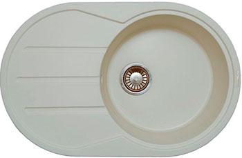 Кухонная мойка LAVA E.2 (VANILLA ваниль) кухонная мойка ukinox stm 800 600 20 6
