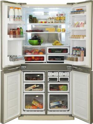 Многокамерный холодильник Sharp SJ-EX 98 FBE холодильник sharp sj gf60ar
