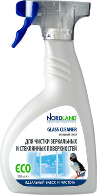 Средство для стекла и зеркал NORDLAND 391329 бытовая химия aos средство для мытья посуды глицерин 500 мл