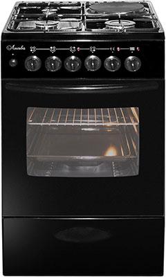 Комбинированная плита Лысьва ЭГ 1/3г01 МС-2у черная без крышки цена