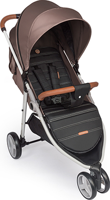 Коляска Happy Baby ''ULTIMA V2'' BROWN 4690624021657 happy baby happy baby автокресло passenger v2 brown коричневое