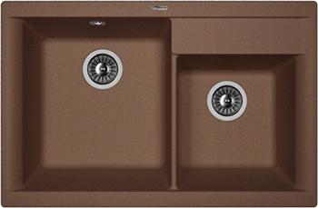 Кухонная мойка Florentina Касси 780 780х510 мокко FSm кухонная мойка florentina касси 780 780х510 антрацит fsm