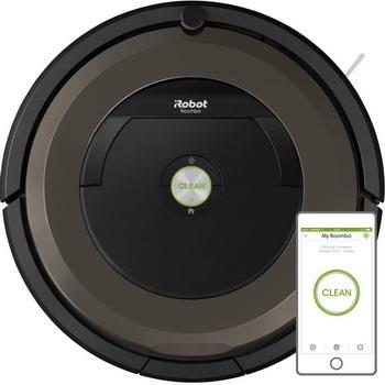 Робот-пылесос iRobot Roomba 896 черно-коричневый 3pcs 6 armed side brushes 12pcs hepa filters for irobot roomba 700 series 760 770 780 790 vacuum cleaning accessroy