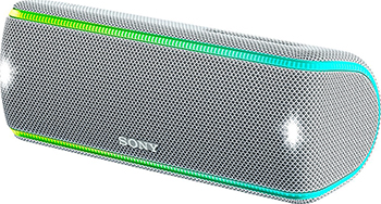 Портативная акустика Sony SRS-XB 31 W белый universal battery charger w usb outlet for sony ericsson x10i more black 2 flat pin plug