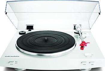 Проигрыватель виниловых дисков Audio-Technica AT-LP3WH audio technica at lp60 usb виниловый проигрыватель