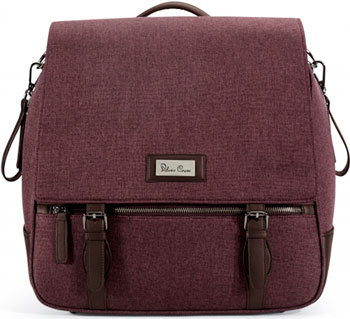 Сумка Silver Cross WAVE bag CLARET SX 5043.CLSI silver cross сумка для мамы на коляску silver cross sleepover sport vintagе pink