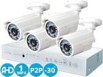 Комплект видеонаблюдения iVUE D 5004 AHC-B4