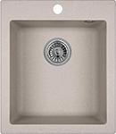 Кухонная мойка Weissgauff QUADRO 420 Eco Granit серый шелк