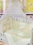 Комплект постельного белья ЗОЛОТОЙ ГУСЬ Кошки-Мышки 7 предметов 100% хлопок (бежевый)