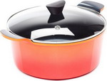 Кастрюля Frybest ORCA-C 28 Orange