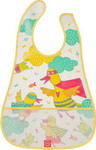 нагрудник Happy Baby WATERPROOF BABY BIB 16005 YELLOW (DUCKS)