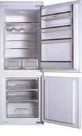 Встраиваемый двухкамерный холодильник Hansa