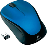 Мышь Logitech Wireless Mouse M 235 Steel Blue (910-003037)