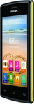Мобильный телефон Philips Мобильный телефон Philips S 307 черный/желтый