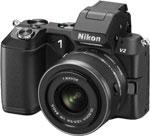 Цифровой фотоаппарат Nikon 1 V2 +10-30 mm VR черный