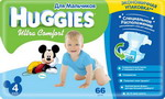 Подгузник HUGGIES Подгузник HUGGIES Ultra Comfort Размер 4 8-14кг 66шт для мальчиков