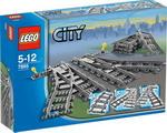 Конструктор LEGO Конструктор LEGO City Железнодорожные стрелки 7895