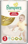 Подгузник Pampers Premium Care Pants Midi (6-11 кг) ЭкономичУпаковка 56 шт