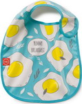 ��������� Happy Baby WATERPROOF BABY BIB X1 16009 BLUE (�������)