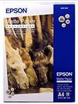 Бумага Epson Matte Paper-Heavyweight A4 (50 листов) (167 г/м2) C 13 S 041256