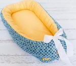 Бортик Baby Nice Грибочек желто-голубой