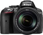 Цифровой фотоаппарат Nikon D 5300 kit 18-140 VR черный