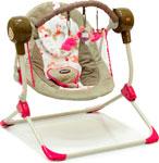 Электрокачели Baby Care Balancelle S 700 с пультом ДУ розовый