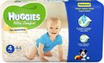 Подгузник HUGGIES Ultra Comfort Размер 4 8-14кг 44шт для мальчиков