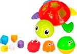Набор игрушек для купания ZHORYA Черепаха с формочками