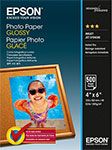 ������ Epson Photo Paper Glossy 10�15 (500 ������) (200 �/�2) C 13 S 042549