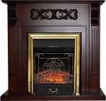 Каминокомплект Royal Flame VENICE с очагом Majestic BR (махагон коричневый антик)