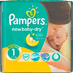 ��������� Pampers New Baby-Dry Newborn 2-5 �� 1 ������ 27 ��
