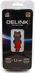 Кабель Delink Кабель Delink HDMI -HDMI v. 2.0 1 5м