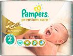 Подгузник Pampers Premium Care Mini 3-6 кг 2 размер 32 шт