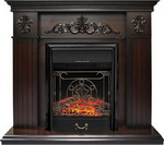 Каминокомплект Royal Flame Provence с очагом Majestic Black (коньяк) (64906298)