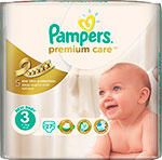 ��������� Pampers Premium Care Midi 4-9 ��, 3 ������, 27 ��