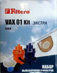 Набор пылесборники + фильтры Filtero VAX 01 (2) Kit ЭКСТРА