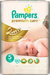 ��������� Pampers Premium Care Junior 11-25 ��, 5 ������, 21 ��