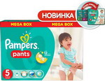 Подгузник Pampers Подгузник Pampers Pants Junior 12-18 кг  5 размер  96 шт