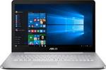 Ноутбук ASUS N 752 VX-GC 218 T (90 NB0AY1-M 02530)