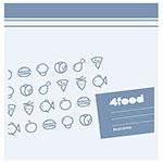 Пакеты для продуктов 4FOOD 20 x 20см  20шт  897024 со скидкой