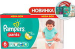��������� Pampers Pants Extra Large 16+ ��, 6 ������, 88 ��
