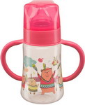 ����� ��� ��������� ����� Happy Baby BABY BOTTLE 10008 RED