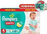 Подгузник Pampers Подгузник Pampers Pants Maxi 9-14 кг  4 размер  104 шт