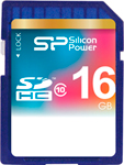 Карта памяти Silicon Power SDHC 16 Gb Class 10 SP 016 GBSDH 010 V 10