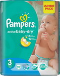 ��������� Pampers Activ Baby-Dry 4-9 �� 3 ������ 82 ��