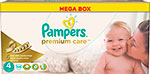 ФОТО pampers premium care maxi 7-14 кг  4 размер  104 шт